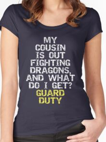 Guard Duty Women's Fitted Scoop T-Shirt