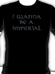 Imperial Text Only T-Shirt