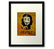 REVOLT Framed Print