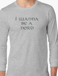 Nord Text Only Long Sleeve T-Shirt