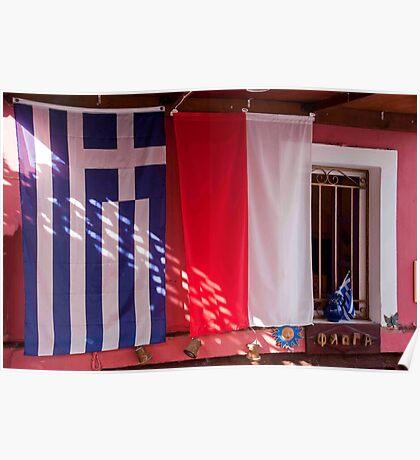 Greek Colors Poster