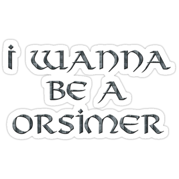 Orsimer Text Only by Miltossavvides