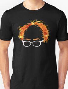 Flaming Bernie Shirt - #Feelthebern T-Shirt
