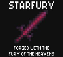 Starfury (Terraria White Font) by Funkymunkey