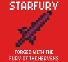 Starfury (Terraria White Font) One Piece - Long Sleeve