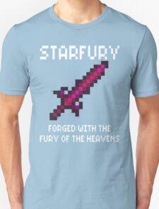 Starfury (Terraria White Font) T-Shirt