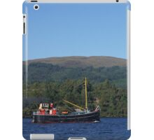 The hunt for Nessie iPad Case/Skin