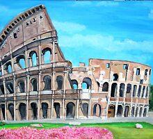 The Coliseum, Rome by Teresa Dominici