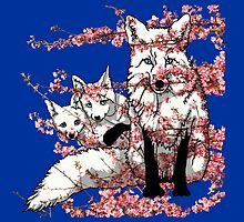 Spring Fox by Kristin J Reyes