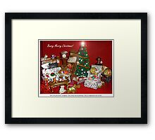 Not Quite Christmas in the Burrow Framed Print