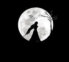 Girl in Moon by Saif Zahid