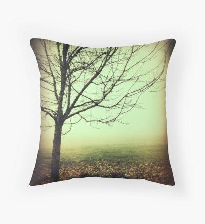 Hazy Shade of Winter Throw Pillow