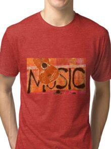 We Just Love Music T-Shirt Tri-blend T-Shirt