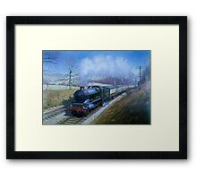 King on Rattery bank Framed Print