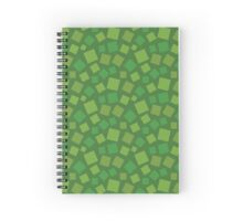 Animal Crossing Grass Spiral Notebook
