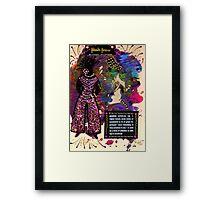 A Precious Lady Framed Print