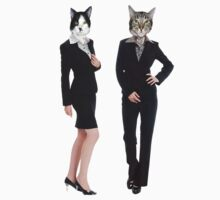 Kittenz in suits  by audin