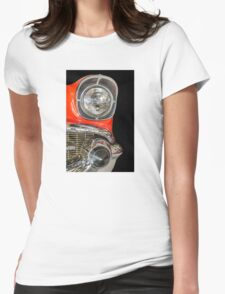 '57 Chevy Bel Air Womens Fitted T-Shirt