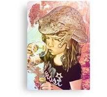 BubbleFrog Canvas Print