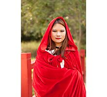 Red riding hood 6 Photographic Print