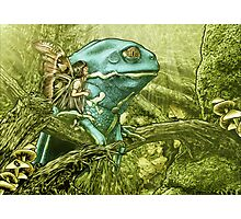 My Big Blue Buddy Photographic Print