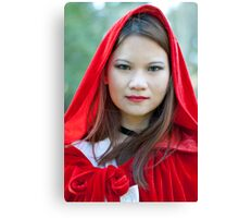 Red riding hood 6 Canvas Print