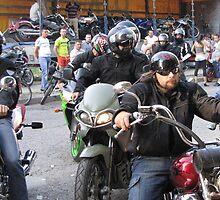 Motorbike Riders by branko stanic