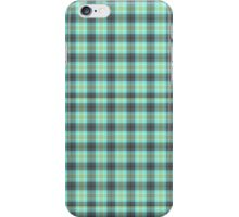 Minty Plaid iPhone Case/Skin