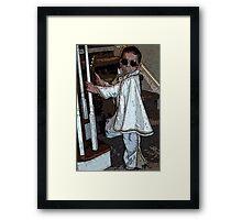 BABY KING Framed Print