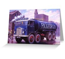 Pickford's Armstrong Saurer Greeting Card