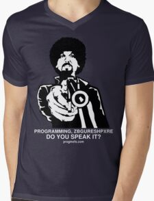 """ProgMofo, """"Less Optimized"""" Edition Mens V-Neck T-Shirt"""