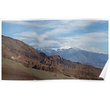 Nice Mountains in Autumn Poster