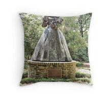 Royal Gardens Throw Pillow