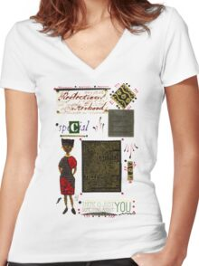 A Special Friend T-Shirt Women's Fitted V-Neck T-Shirt