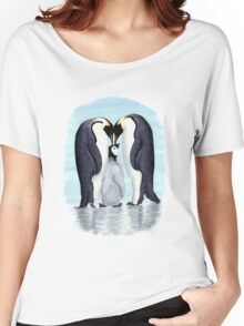 family of penguins Women's Relaxed Fit T-Shirt