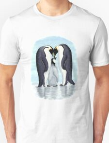 family of penguins Unisex T-Shirt