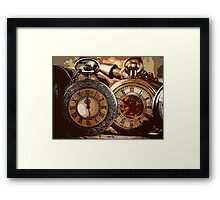 DIFFERENT TIMES Framed Print