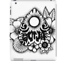 Ouija Planchette Flower iPad Case/Skin