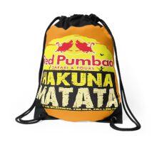 Red Pumbaa - Hakuna Matata Drawstring Bag