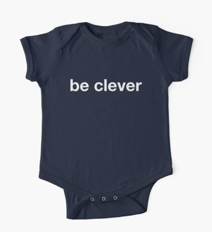 Be Clever One Piece - Short Sleeve