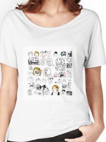 Meme Collaboration Shirt Women's Relaxed Fit T-Shirt