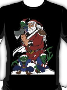 Hobo With A Shotgun? Try Santa With An Axe T-Shirt