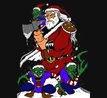 Hobo With A Shotgun? Try Santa With An Axe Unisex T-Shirt