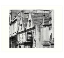 Bath Streetview Art Print