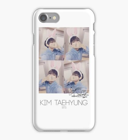 BTS/Bangtan Sonyeondan - V Photocard iPhone Case/Skin