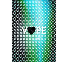Vape Heart Retro Pattern  Photographic Print