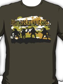 Brothers in a Half-Shell (for Dark colors) T-Shirt