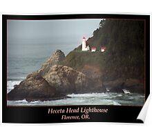 Heceta Head Lighthouse II Poster