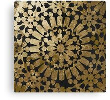 Moroccan Gold II Canvas Print