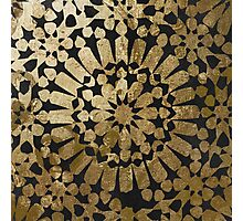 Moroccan Gold II Photographic Print